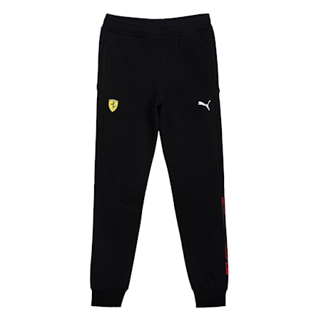 Scuderia Ferrari  Unisex Kids Sweat Pants, Puma Black, small-IND