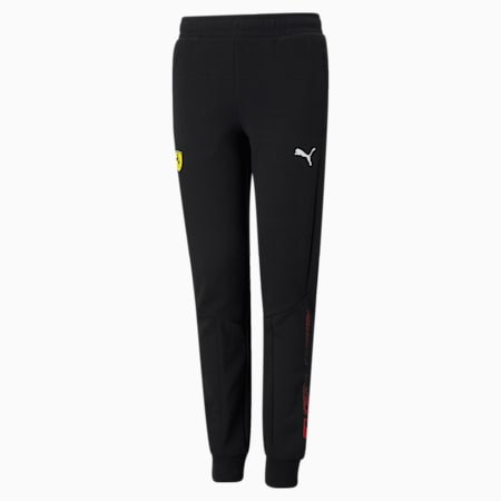 Scuderia Ferrari Youth Sweatpants, Puma Black, small-SEA