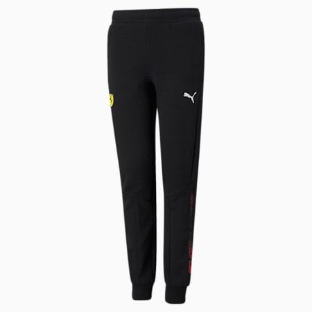 Pantalons en molleton Scuderia Ferrari, enfant, Puma Black, petit