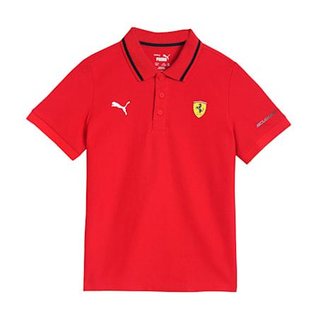 Scuderia Ferrari Racing Kid's Polo, Rosso Corsa, small-IND