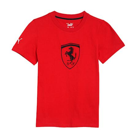 Scuderia Ferrari Racing Kid's  Big  + T-shirt, Rosso Corsa, small-IND