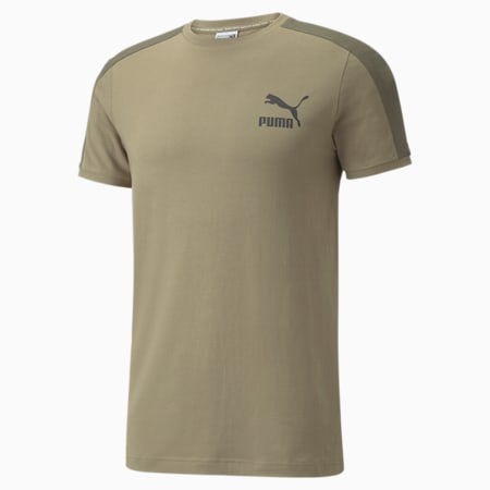 Iconic T7 Men's Tee, Covert Green, small