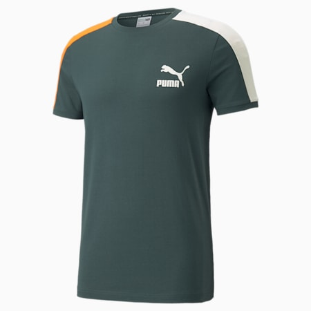 Iconic T7 Men's Tee, Green Gables, small