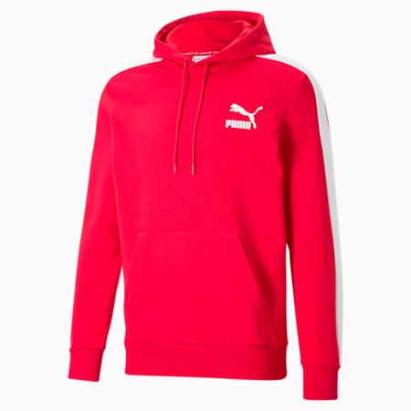 Sudadera con capucha Iconic T7 para hombre, High Risk Red, pequeño