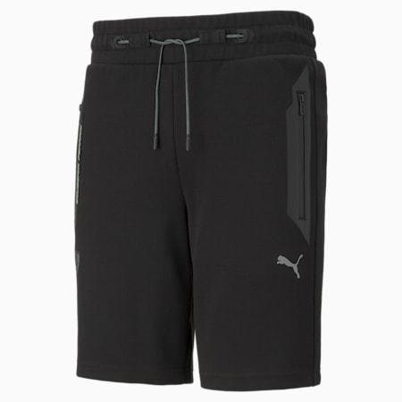 Scuderia Ferrari Style Men's Sweat Shorts, Puma Black, small-GBR