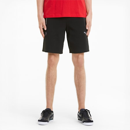 Scuderia Ferrari Style Men's Sweat Shorts, Puma Black, small