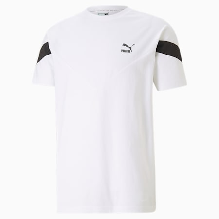 T-shirt Iconic MCS, homme, Blanc Puma, petit