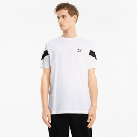 Iconic MCS Men's Tee, Puma White, small