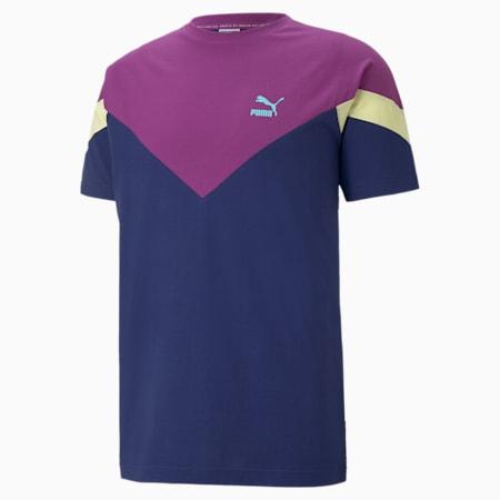 Iconic MCS Men's  T-shirt, Elektro Blue, small-IND