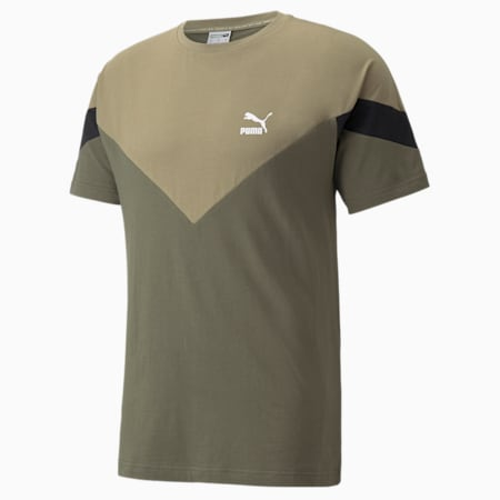 Iconic MCS Men's  T-shirt, Grape Leaf, small-IND