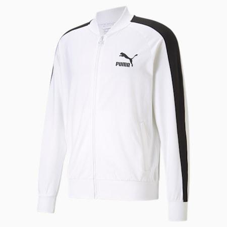 Iconic T7 Men's Track Jacket, Puma White, small