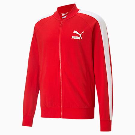 Chaqueta deportiva Iconic T7 para hombre, High Risk Red, pequeño