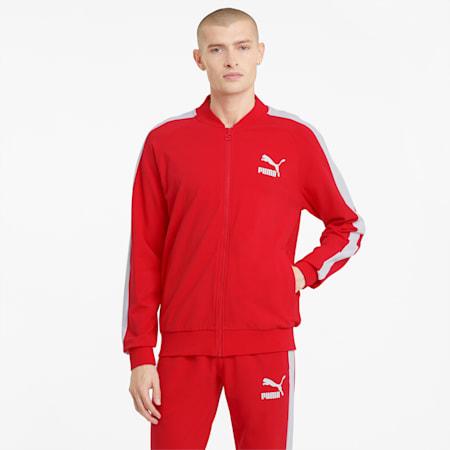 Męska kurtka dresowa Iconic T7, High Risk Red, small