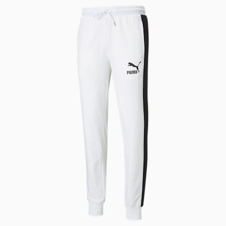 Iconic T7 Men's Track Pants, Puma White, small-GBR