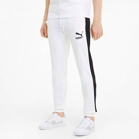 Iconic T7 Men's Track Pants, Puma White, small
