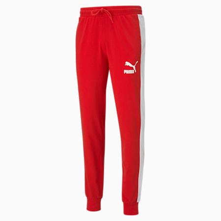 Męskie spodnie dresowe Iconic T7, High Risk Red, small