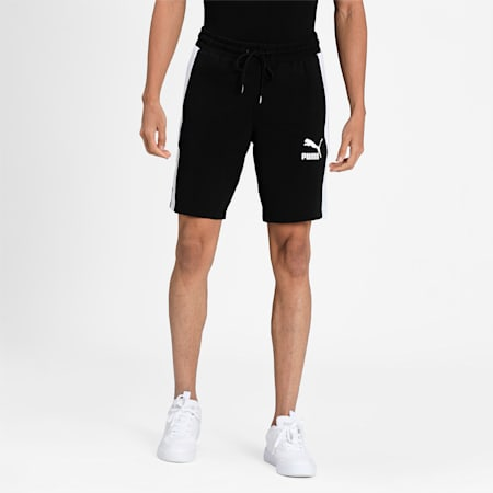 """Iconic T7 Jersey 8"""" Men's Shorts, Puma Black, small-IND"""