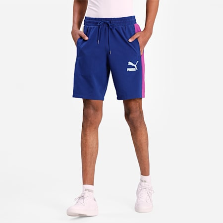 """Iconic T7 Jersey 8"""" Men's Shorts, Elektro Blue, small-IND"""