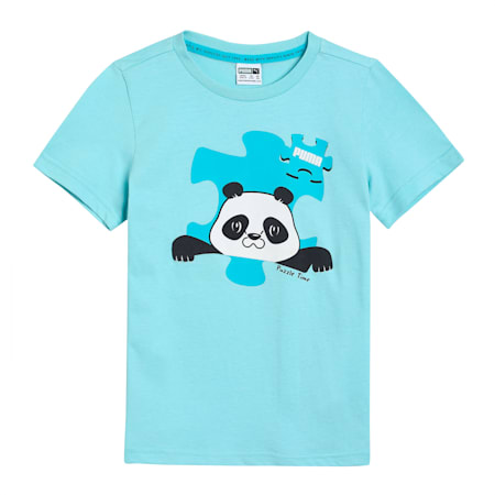 Paw Advanced Kids'  T-shirt, Angel Blue, small-IND