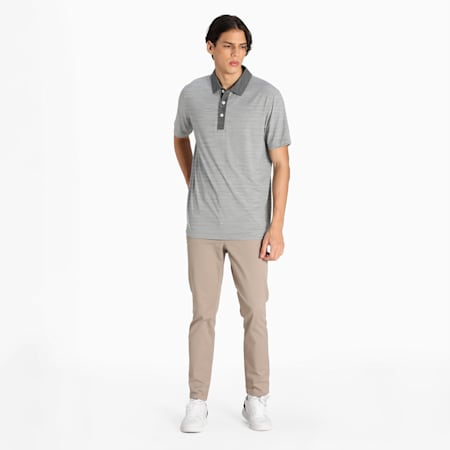CLOUDSPUN Legend Men's Golf Performance Polo, Puma Black, small-IND