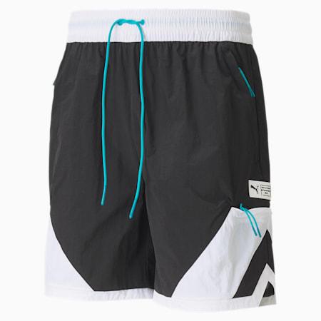 Parquet Herren Basketball Shorts, Puma Black, small