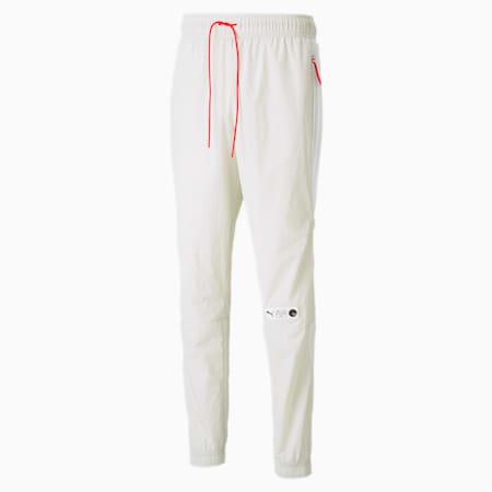 Parquet Men's Basketball Track Pants, Vaporous Gray, small-SEA