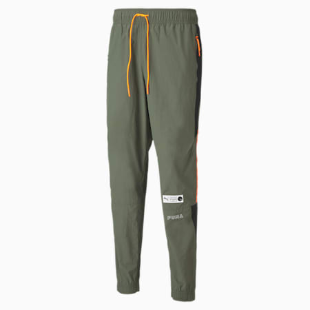 Parquet Men's Track Pants, Thyme, small
