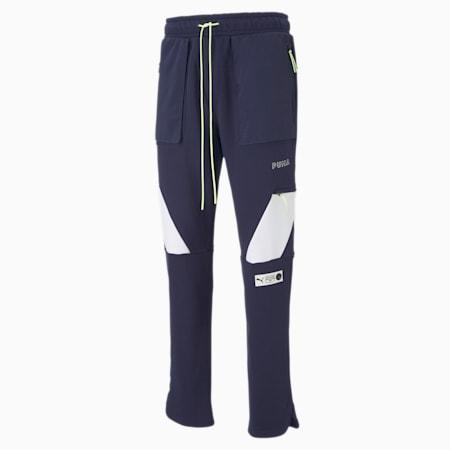 Parquet Men's Sweatpants, Peacoat, small