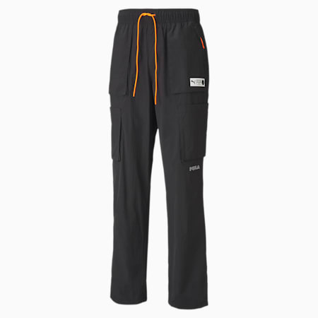 Pantalon cargo Parquet Basketball pour homme, Puma Black, small