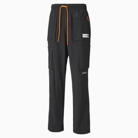 Parquet Men's Cargo Pants, Puma Black, small