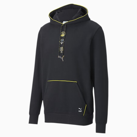 PUMA x EMOJI Men's Hoodie, Puma Black, small
