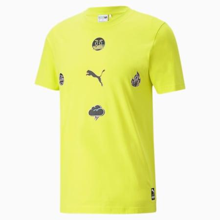 T-shirtPUMA x emoji®, homme, Source sulfureuse, petit