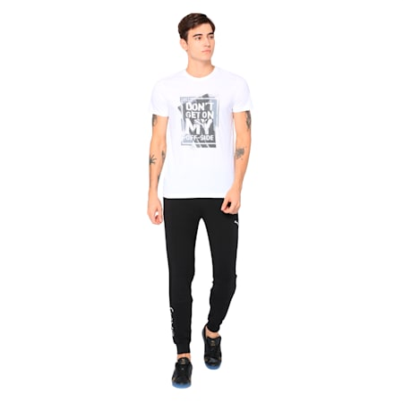 Bold Cricket Graphic Tee, Puma White, small-IND