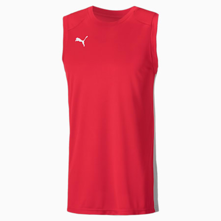 Men's Basketball Game Jersey, High Risk Red, small