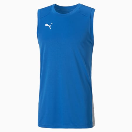 Men's Basketball Game Jersey, Strong Blue, small