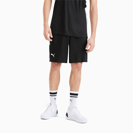 Men's Basketball Game Shorts, Puma Black, small