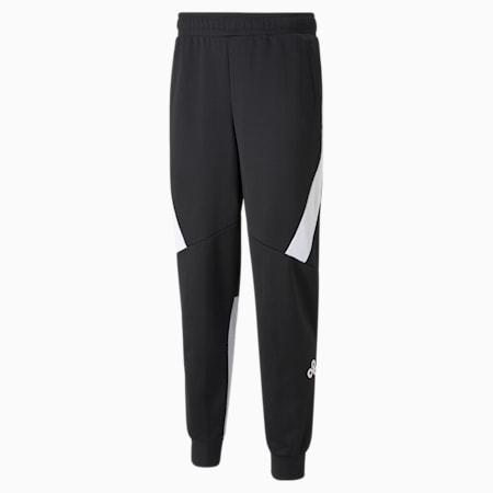 Réplica de pantalones deportivos PUMA x CLOUD9 para hombre, Puma Black-Gray Violet, pequeño