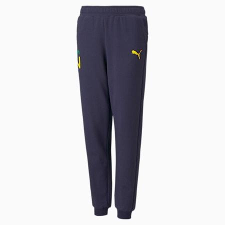 Pantaloni tuta da calcio Neymar Jr Future Youth, Peacoat-Dandelion, small