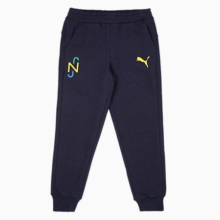 Neymar Jr. Hero  Kids Sweat Pants, Peacoat-Dandelion, small-IND