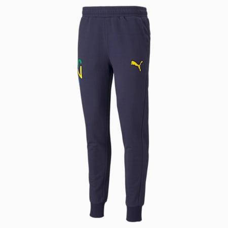 Neymar Jr. Hero Men's Sweatpants, Peacoat-Dandelion, small