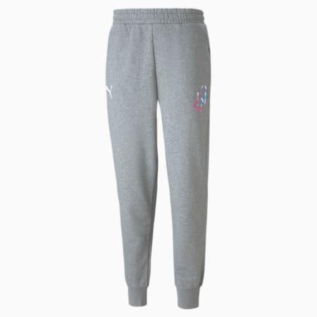 Neymar Jr Creativity Men's Sweatpants, Medium Gray Heather, small