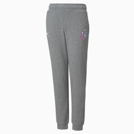 Neymar Jr Creativity Jugend Sweatpants, Medium Gray Heather, small