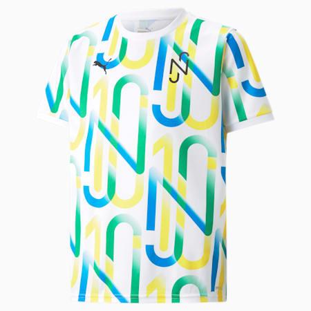 Camiseta gráfica juvenil Neymar Jr., Puma White, small