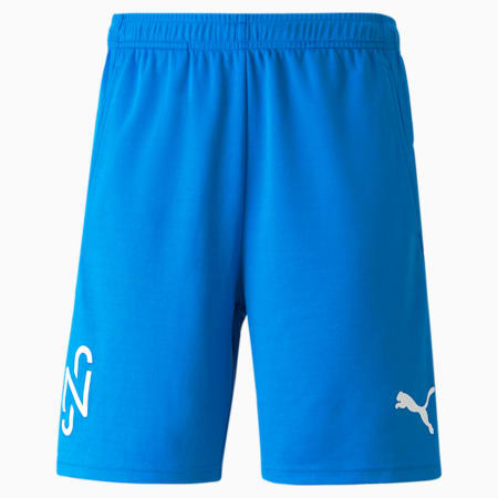 Shorts de fútbol NeymarJr para hombre, Electric Blue Lemonade, pequeño