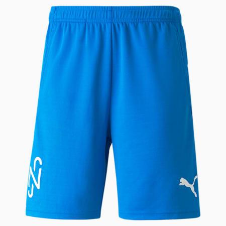 Neymar Jr Men's Football Shorts, Electric Blue Lemonade, small