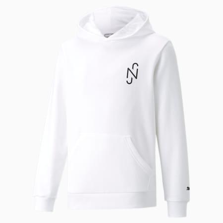 Neymar Junior Copa hoodie jongeren, Puma White, small