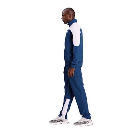 PUMA Premium Unisex Track Suit, Dark Denim-Puma White, small-IND