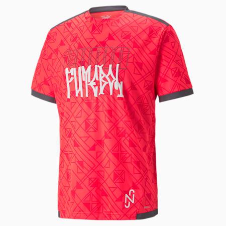 Neymar Jr Men's Futebol Jersey, Sunblaze-Ebony, small