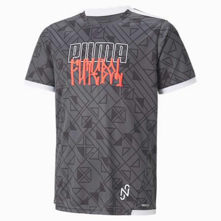 Młodzieżowa koszulka Neymar Jr Futebol, Ebony, small