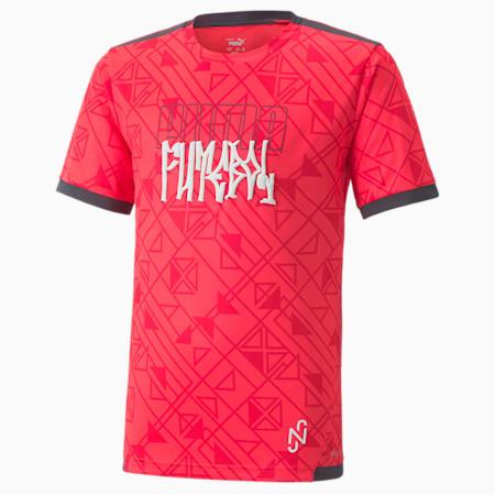 Młodzieżowa koszulka Neymar Jr Futebol, Sunblaze-Ebony, small